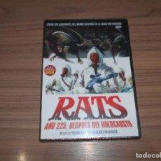 Cinema: RATS AÑO 225 DESPUES DEL HOLOCAUSTO DVD NUEVA PRECINTADA. Lote 253236595