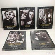Cine: LOTE 5 DVD EL CINE DE LOS GRANDES. Lote 253454350