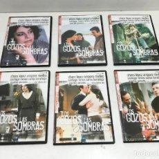 """Cine: COLECCIÓN 6 DVD SERIES MITICAS DE LA TELEVISIÓN """" LOS GOZOS Y LAS SOMBRAS """". Lote 253494330"""