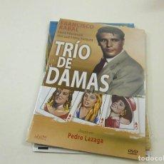 Cinema: TRIO DE DAMAS -PEDRO LAZAGA - DVD - CAJA FINA CARTON - N. Lote 253525130