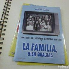 Cinema: LA FAMILIA BIEN GRACIAS- DVD - CAJA FINA CARTON - N. Lote 253526530