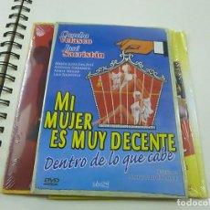 Cinema: MI MUJER ES MUY DECENTE -DVD - CAJA FINA CARTON - N. Lote 253527335