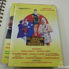 Cinema: EL SEÑOR ESTA SERVIDO -DVD - CAJA FINA CARTON - N. Lote 253528300