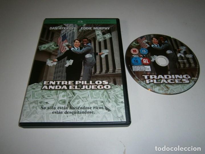 ENTRE PILLOS ANDA EL JUEGO DVD EDDIE MURPHY (Cine - Películas - DVD)