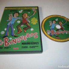 Cinéma: LOS BINGUEROS DVD FERNANDO ESTESO ANDRES PAJARES MARIANO OZORES. Lote 253555385