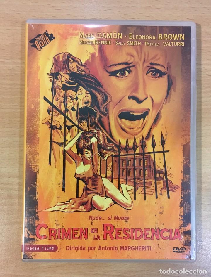DVD CINE TERROR GIALLO - CRIMEN EN LA RESIDENCIA / NUDE... SI MUORE (1968) (Cine - Películas - DVD)