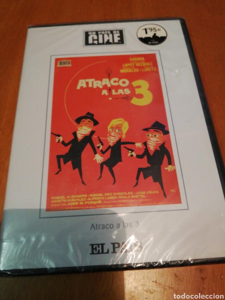 ATRACÓ A LAS 3 DVD NUEVO (Cine - Películas - DVD)