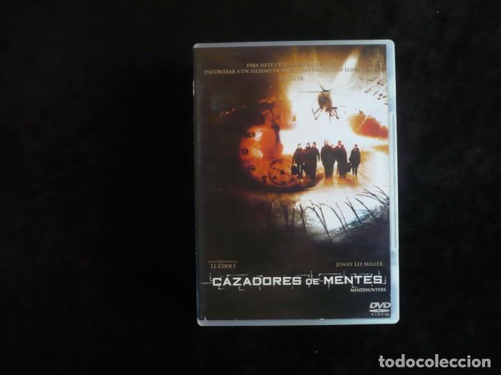 CAZADORES DE MENTES - DVD CASI COMO NUEVO (Cine - Películas - DVD)