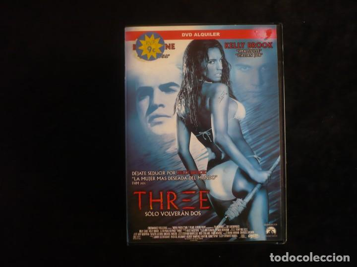 THREE SOLO VOLVERAN DOS (Cine - Películas - DVD)
