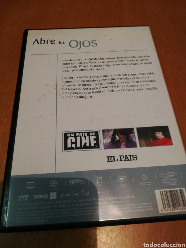 Cine: Abre los ojos dvd - Foto 2 - 253573580