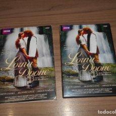 Cine: LORNA DOONE EDICION ESPECIAL 2 DVD 180 MIN. MARTIN CLUNES RICHARD COYLE AMELIA WARNER. Lote 253635225