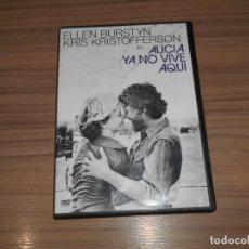 Cine: ALICIA YA NO VIVE AQUI DVD ELLEN BURSTYN KRIS KRISTOFFERSON WARNER. Lote 253635965