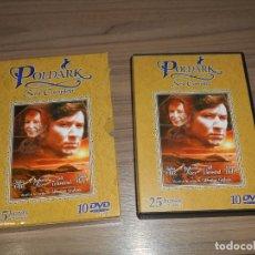 Cine: POLDARK SERIE COMPLETA 10 DVD 25 HORAS. Lote 253636545