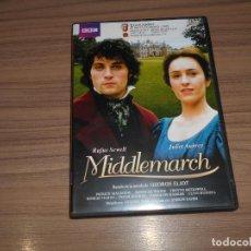 Cine: MIDDLEMARCH EDICION ESPECIAL 3 DVD GEORGE ELIOT 375 MIN.. Lote 253637600