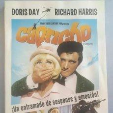 Cine: LOTE DVD CAPRICHO (DESCATALOGADO CON DORIS DAY, RICHARD HARRIS). Lote 253911860
