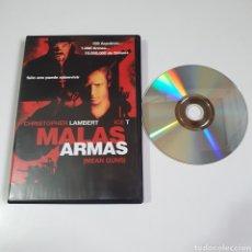 Cine: DVD, MALAS ARMAS, CHRISTOPHER LAMBERT.. Lote 254031175