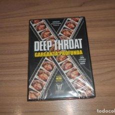 Cine: GARGANTA PROFUNDA DEEP THROAT DVD MITOS DEL CINE PARA ADULTOS NUEVA PRECINTADA. Lote 254080525