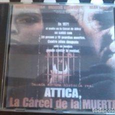 Cine: CD PELÍCULA THRILLER POLICÍACO / DRAMA: ATTICA. LA CÁRCEL DE LA MUERTE. 2001.. Lote 254098160