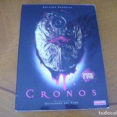 Cine: CRONOS / UNA PELICULA DE GUILLERMO DEL TORO - EDICION ESPECIAL 2 DISCOS. Lote 254098285