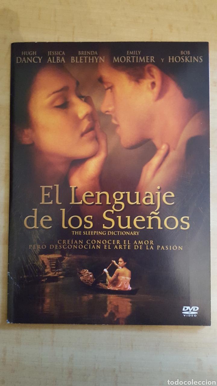 DVD EL LENGUAJE DE LOS SUEÑOS EDICIÓN CARÁTULA DE CARTON.COMO NUEVO (Cine - Películas - DVD)