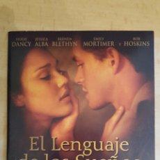 Cine: DVD EL LENGUAJE DE LOS SUEÑOS EDICIÓN CARÁTULA DE CARTON.COMO NUEVO. Lote 254254615