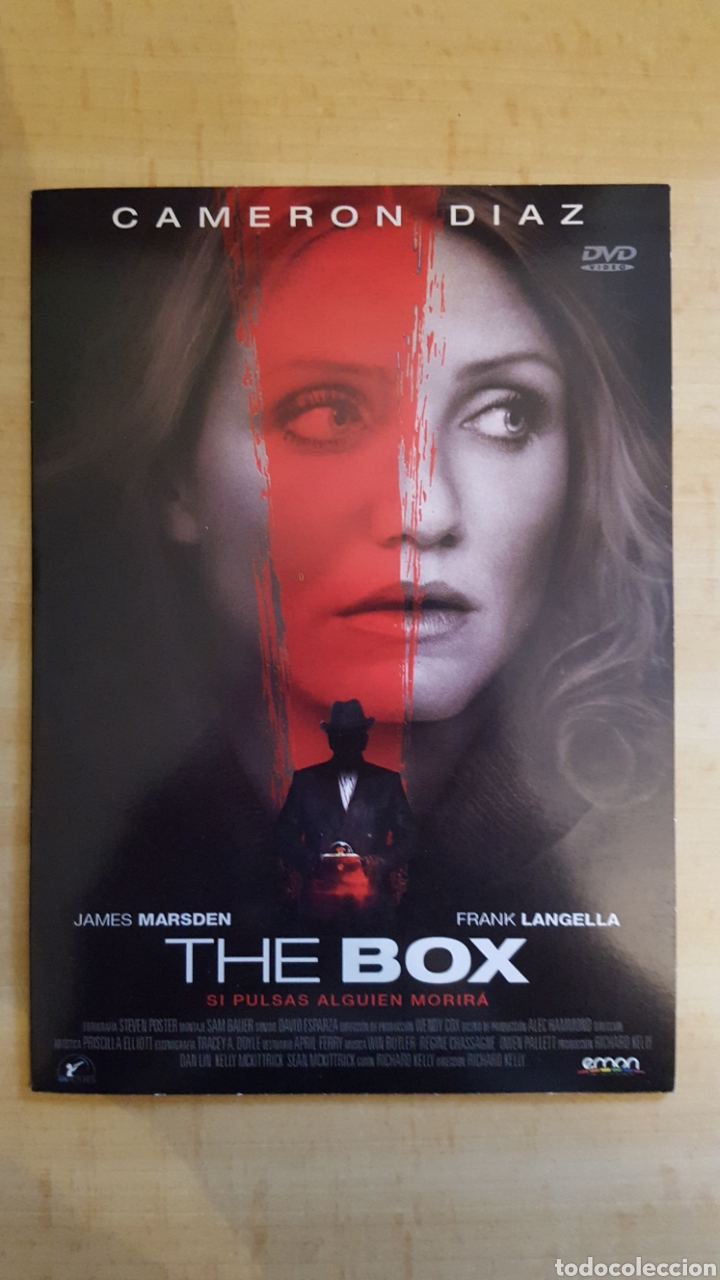 DVD THE BOX EDICIÓN CARÁTULA DE CARTON.COMO NUEVO (Cine - Películas - DVD)