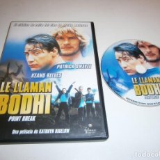 Cinéma: LE LLAMAN BODHI DVD POINT BREAK PATRICK SWAYZE KEANU REAVES. Lote 254290925