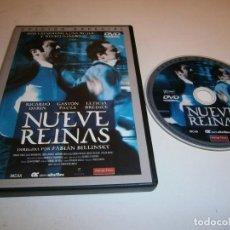 Cinéma: NUEVE REINAS DVD EDICION ESPECIAL RICARDO DARIN GASTON PAULS. Lote 254292225