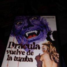 Cinema: DRÁCULA VUELVE DE LA TUMBA. Lote 254292255
