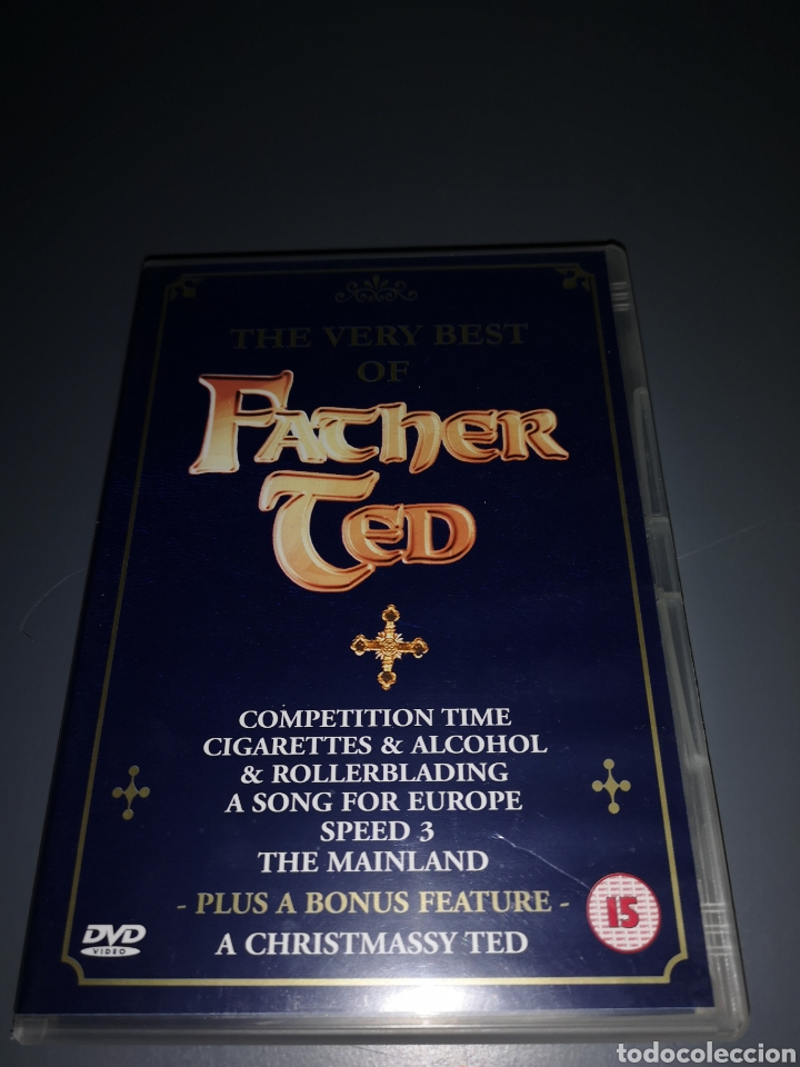 T1P96. PELÍCULA EN DVD. THE VERY BEST OF FATHER TED (Cine - Películas - DVD)