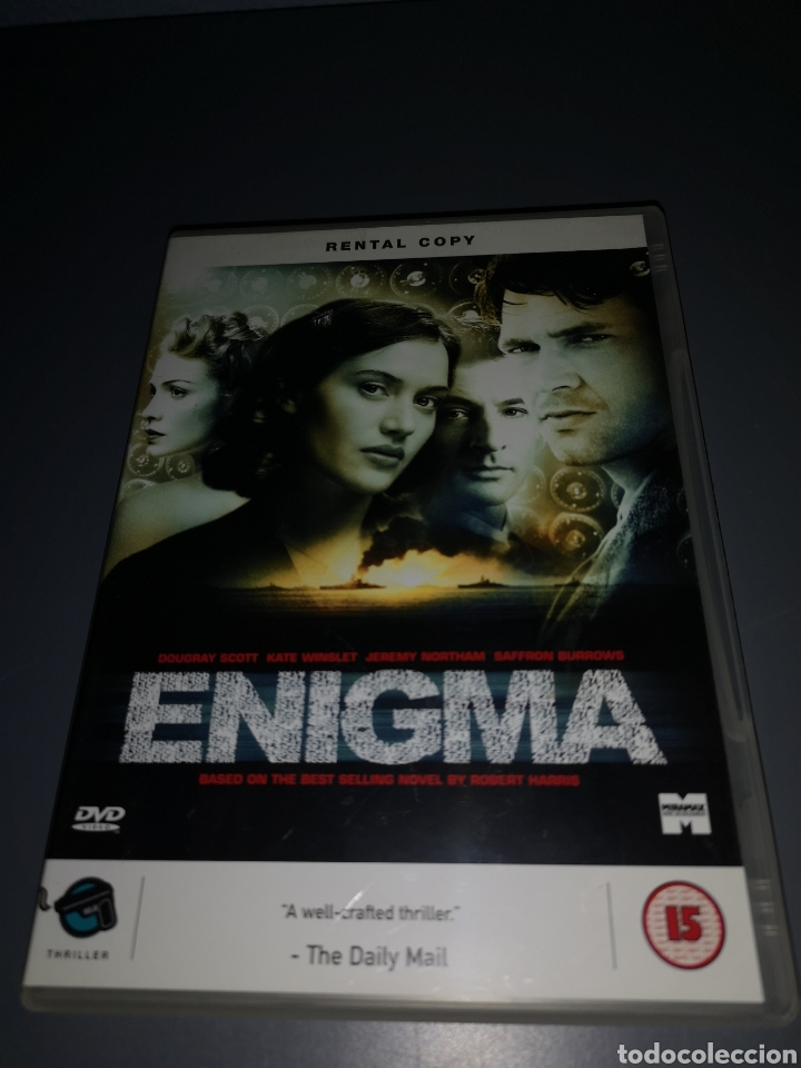 T1P97. PELÍCULA EN DVD. ENIGMA (Cine - Películas - DVD)
