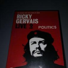 Cine: T1P100. PELÍCULA EN DVD. RICKY GERVAIS. LIVE POLITICS. Lote 254324985
