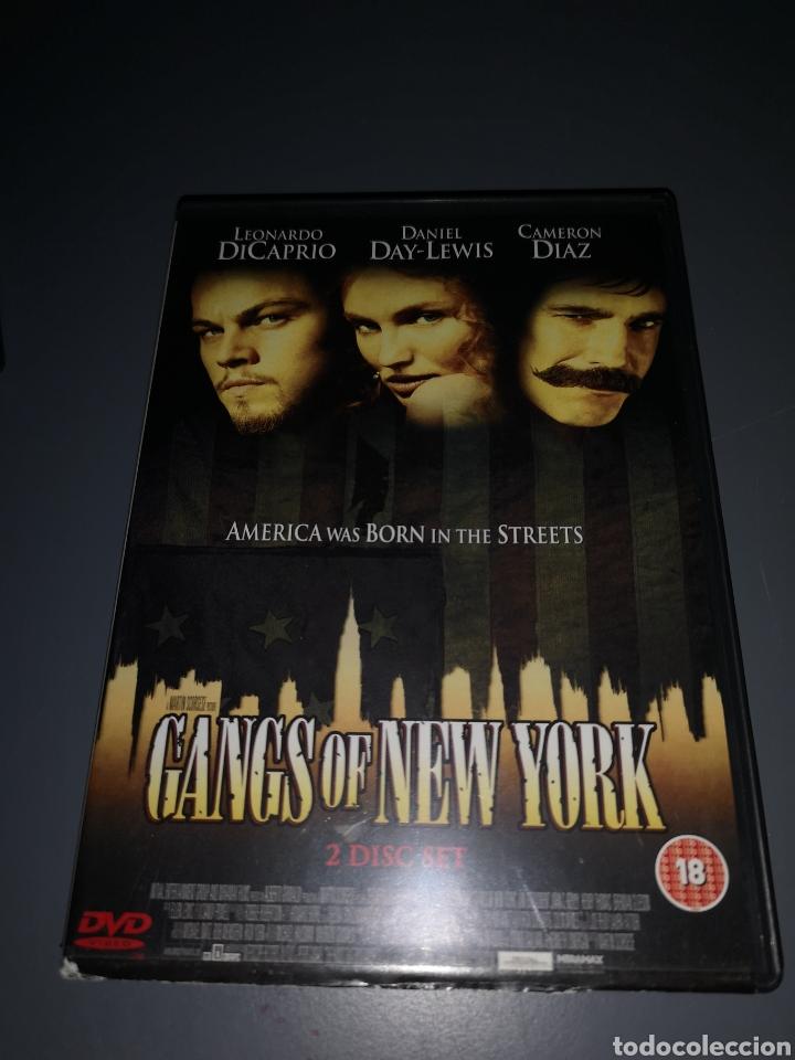 T1P101. PELÍCULA EN DVD. GANGS OF NEW YORK (Cine - Películas - DVD)