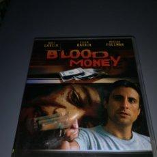 Cine: T1P104. PELÍCULA EN DVD. BLOOD MONEY.. Lote 254327495