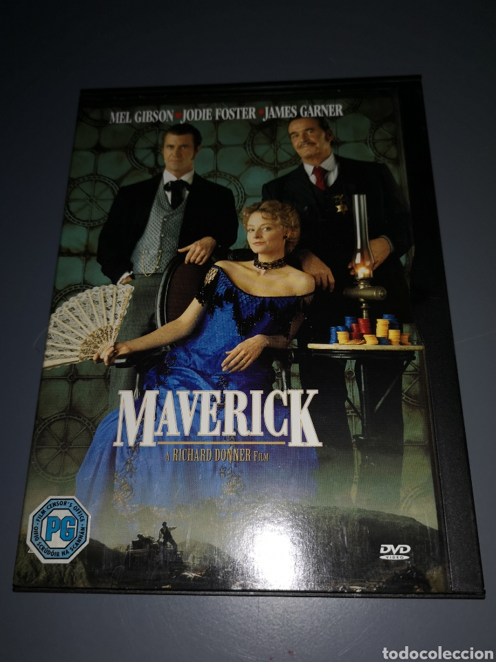 T1P107. PELÍCULA EN DVD. MAVERICK (Cine - Películas - DVD)