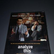 Cine: T1P113. PELÍCULA EN DVD. ANALYZE THIS. PRECINTADO. Lote 254334320