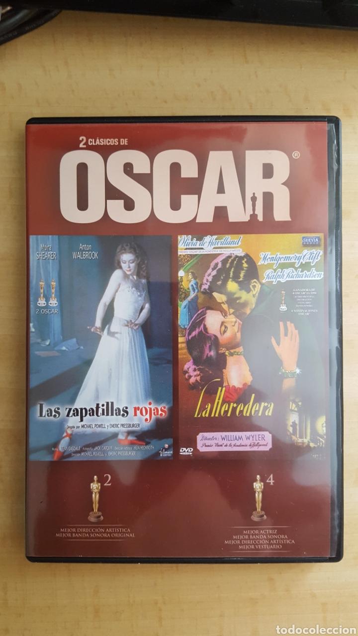 DVD 2 CLASICOS DE OSCAR LAS ZAPATILLAS ROJAS Y LA HEREDERA.COMO NUEVO VISTO 1 VEZ (Cine - Películas - DVD)