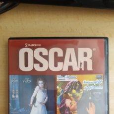 Cine: DVD 2 CLASICOS DE OSCAR LAS ZAPATILLAS ROJAS Y LA HEREDERA.COMO NUEVO VISTO 1 VEZ. Lote 254352415