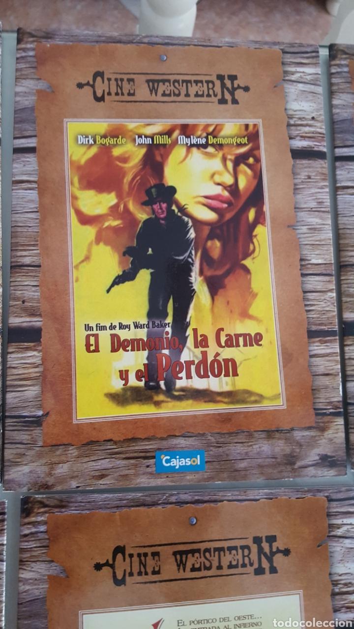 Cine: 11 DVD CINE WESTER N.DEL OESTE VERSIÓN CARTÓN SÓLO VISTAS 1 VEZ.BUEN ESTADO.COLECCION - Foto 3 - 254403150