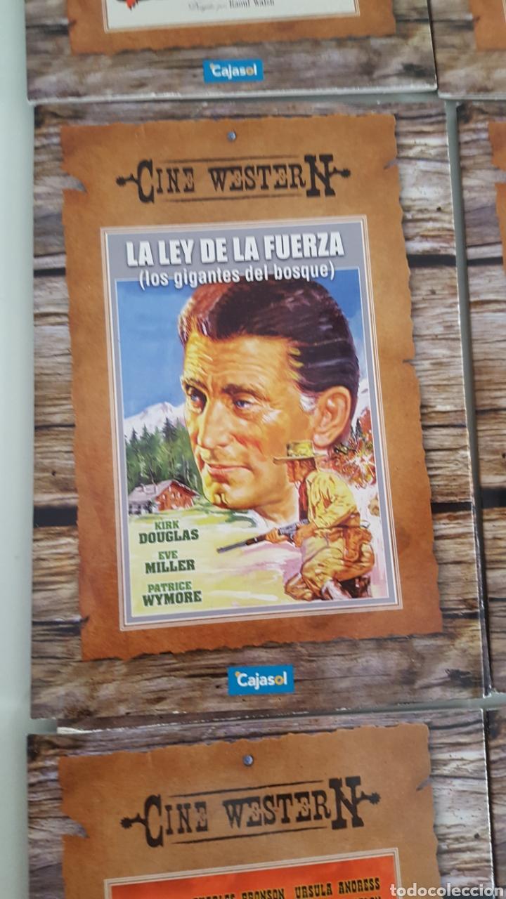 Cine: 11 DVD CINE WESTER N.DEL OESTE VERSIÓN CARTÓN SÓLO VISTAS 1 VEZ.BUEN ESTADO.COLECCION - Foto 5 - 254403150