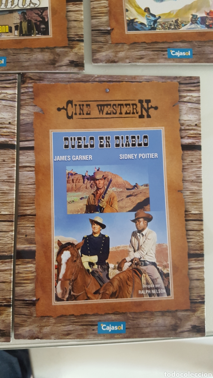Cine: 11 DVD CINE WESTER N.DEL OESTE VERSIÓN CARTÓN SÓLO VISTAS 1 VEZ.BUEN ESTADO.COLECCION - Foto 12 - 254403150