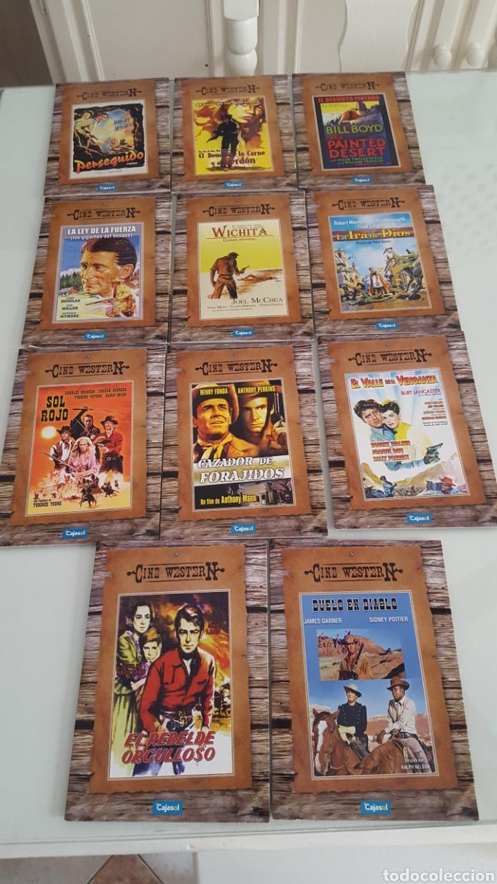 11 DVD CINE WESTER N.DEL OESTE VERSIÓN CARTÓN SÓLO VISTAS 1 VEZ.BUEN ESTADO.COLECCION (Cine - Películas - DVD)