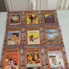 Cine: 11 DVD CINE WESTER N.DEL OESTE VERSIÓN CARTÓN SÓLO VISTAS 1 VEZ.BUEN ESTADO.COLECCION. Lote 254403150