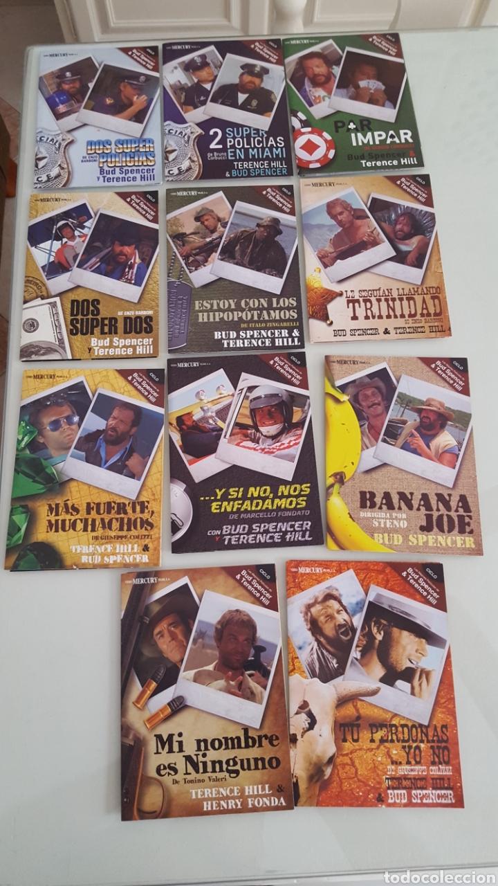 11 DVD COLECCIÓN CICLO BUF SPENCER & TERENCE HILL.VISTO SÓLO 1 VEZ COMO NUEVO. (Cine - Películas - DVD)