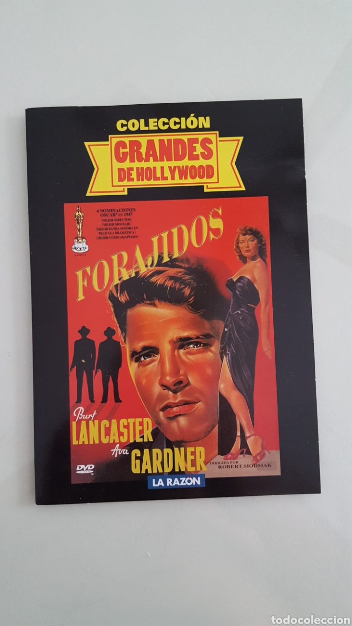 DVD FORAJIDOS COLECCION GRANDES DE HOLLYWOOD (Cine - Películas - DVD)