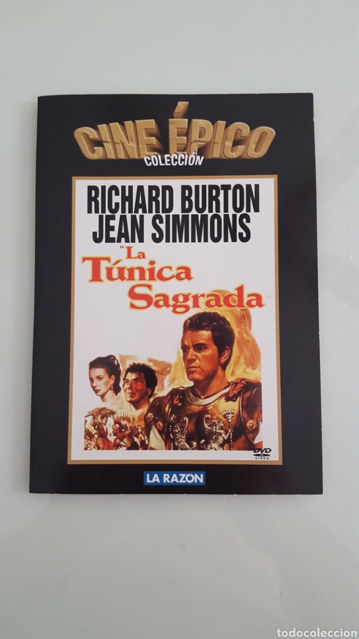 DVD LA TUNICA SAGRADA EDICIÓN CARTÓN COMO NUEVA VISTA SÓLO 1 VEZ.CINE EPICO (Cine - Películas - DVD)