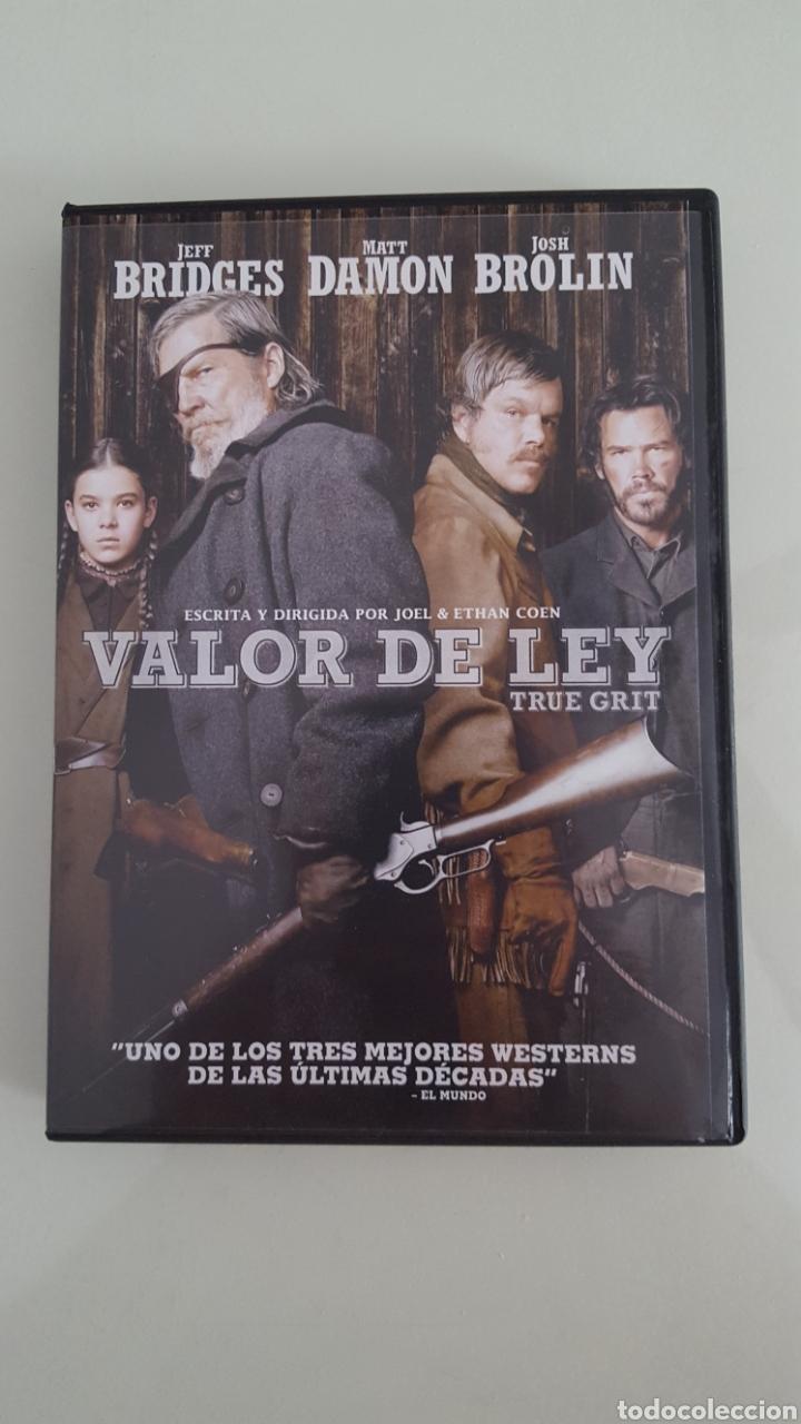 DVD VALOR DE LEY TRUE GRIT BUEN ESTADO VISTA SÓLO 1 VEZ (Cine - Películas - DVD)