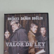 Cine: DVD VALOR DE LEY TRUE GRIT BUEN ESTADO VISTA SÓLO 1 VEZ. Lote 254410035
