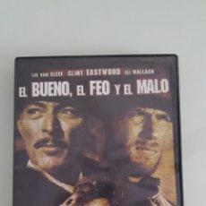 Cine: DVD DEL OESTE EL BUENO EL FEO Y EL MALO.COMO NUEVA VISTA 1 VEZ. Lote 254410645