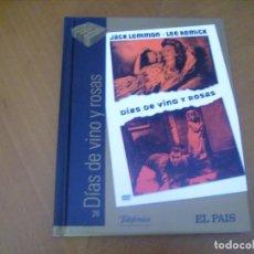 Cine: DIAS DE VINO Y ROSAS / DVD + LIBRO FOTOS ... EL PAIS / EXCELENTE FORMATO. Lote 254490440